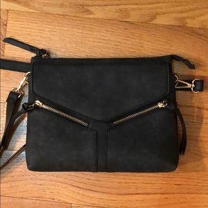 Free people vegan leather crossbody bag